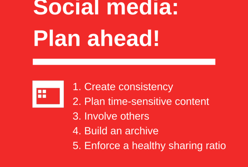 How to Plan Your Social Media Content